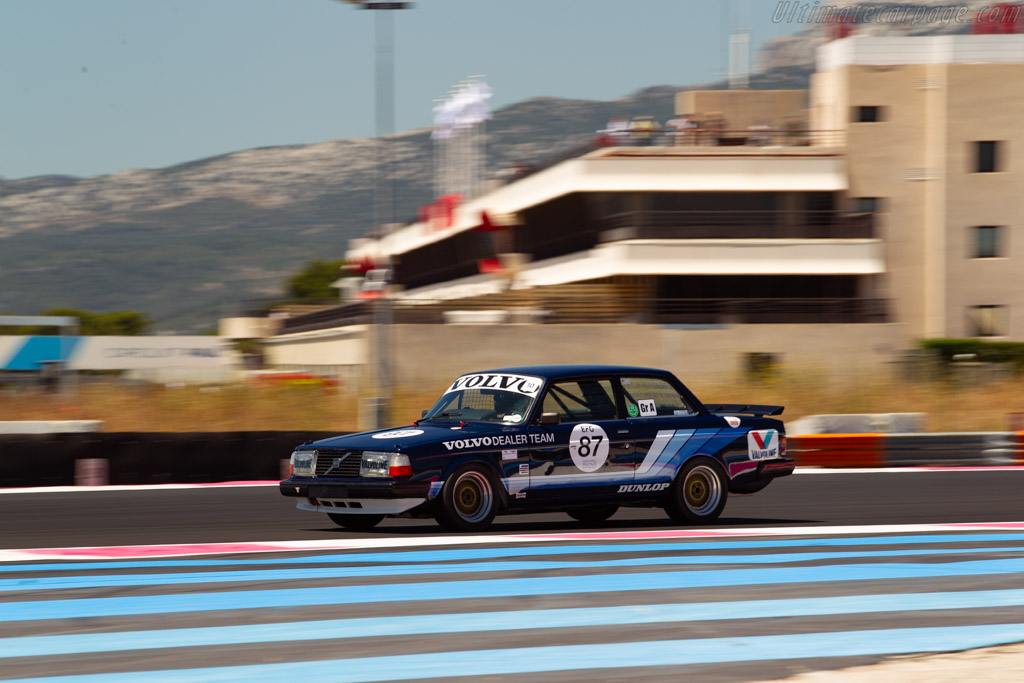 Volvo 240 T - Chassis: 2424L1127467 - Driver: Xavier Micheron / Eric Wassermann - 2020 Dix Mille Tours