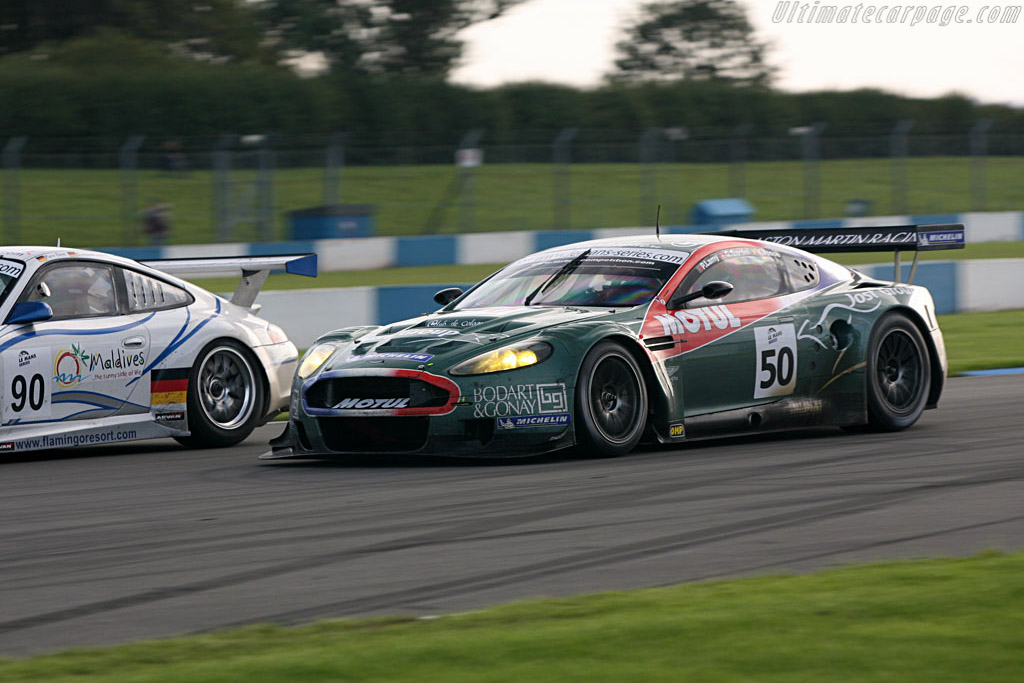 Aston Martin DBR9 - Chassis: DBR9/1 - Entrant: Aston Martin Larbre  - 2006 Le Mans Series Donnington 1000 km