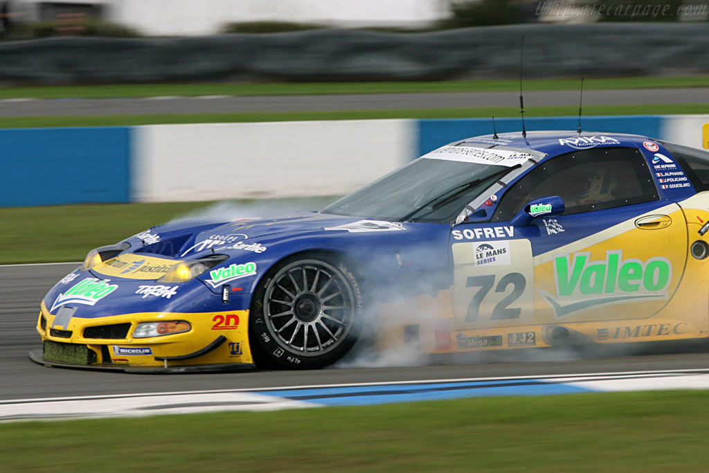 Chevrolet Corvette C5-R - Chassis: 010 - Entrant: Luc Alphand Adventures  - 2006 Le Mans Series Donnington 1000 km