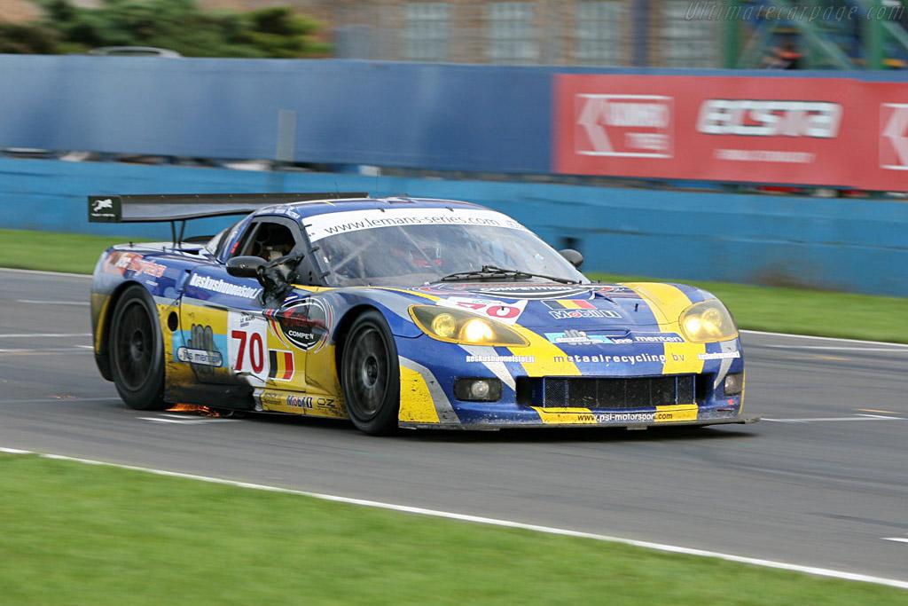 Chevrolet Corvette C6.R - Chassis: 002 - Entrant: PSI Experience  - 2006 Le Mans Series Donnington 1000 km
