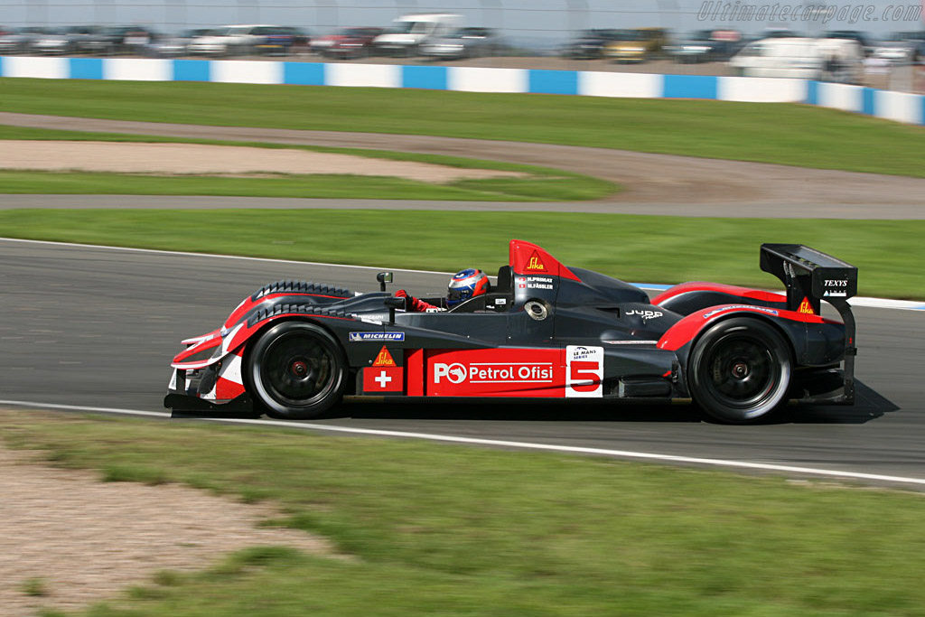 Courage LC70 Judd - Chassis: LC70-02 - Entrant: Swiss Spirit  - 2006 Le Mans Series Donnington 1000 km