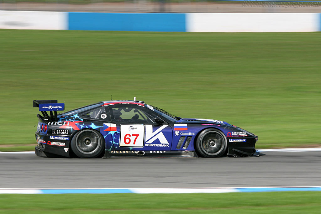 Ferrari 550 GTS Maranello - Chassis: 108391 - Entrant: Convers Menx Team  - 2006 Le Mans Series Donnington 1000 km