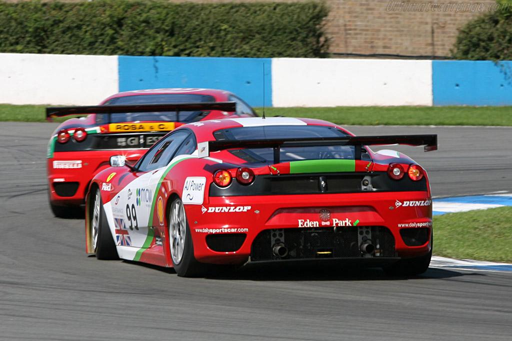 Ferrari F430 GTC - Chassis: 2408 - Entrant: Virgo Motorsport  - 2006 Le Mans Series Donnington 1000 km