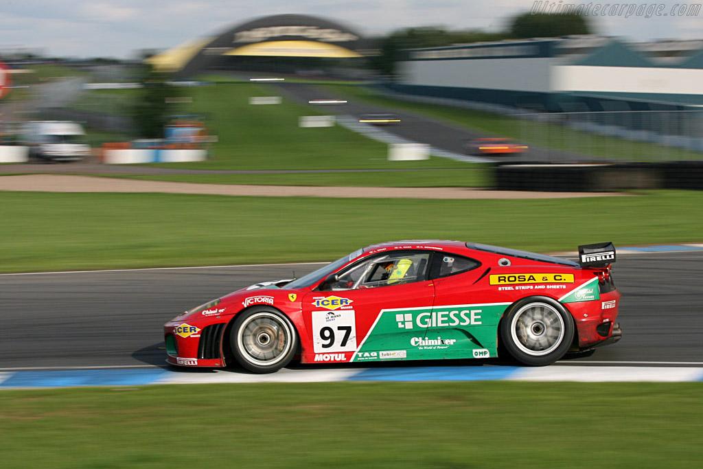 Ferrari F430 GTC - Chassis: 2402 - Entrant: GPC Sport  - 2006 Le Mans Series Donnington 1000 km