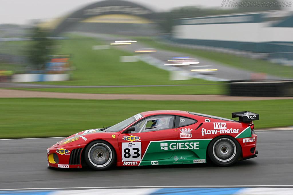 Ferrari F430 GTC - Chassis: 2410 - Entrant: GPC Sport  - 2006 Le Mans Series Donnington 1000 km