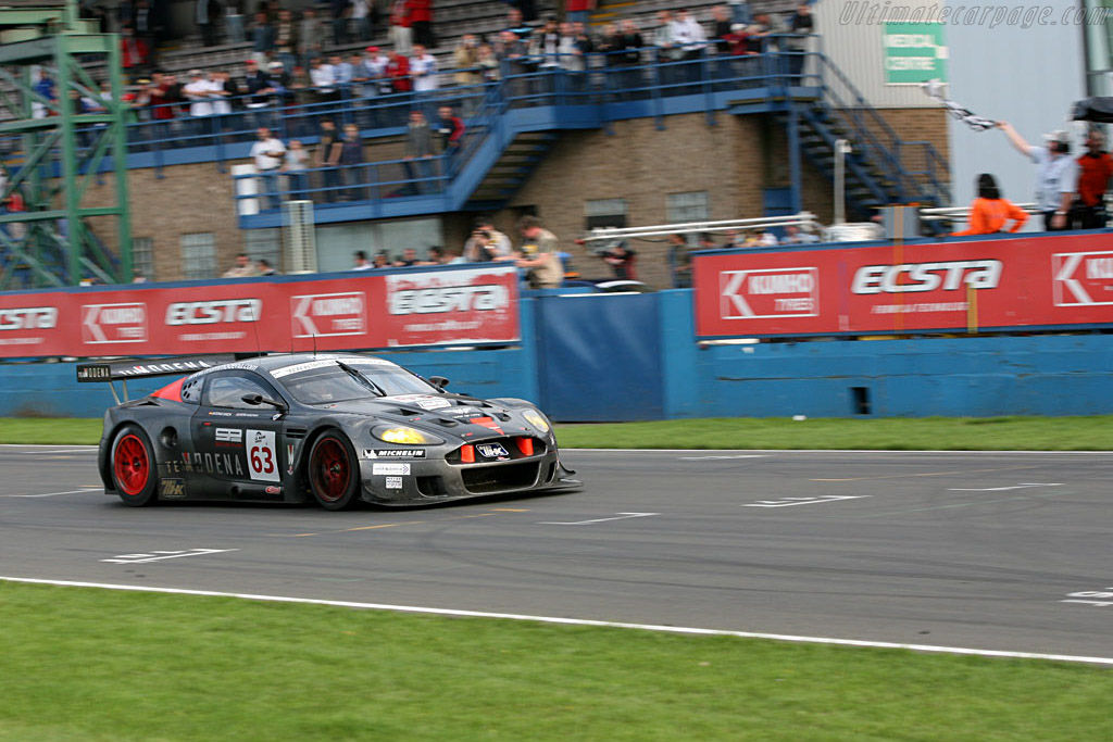 GT1 winners - Chassis: DBR9/4 - Entrant: Team Modena  - 2006 Le Mans Series Donnington 1000 km