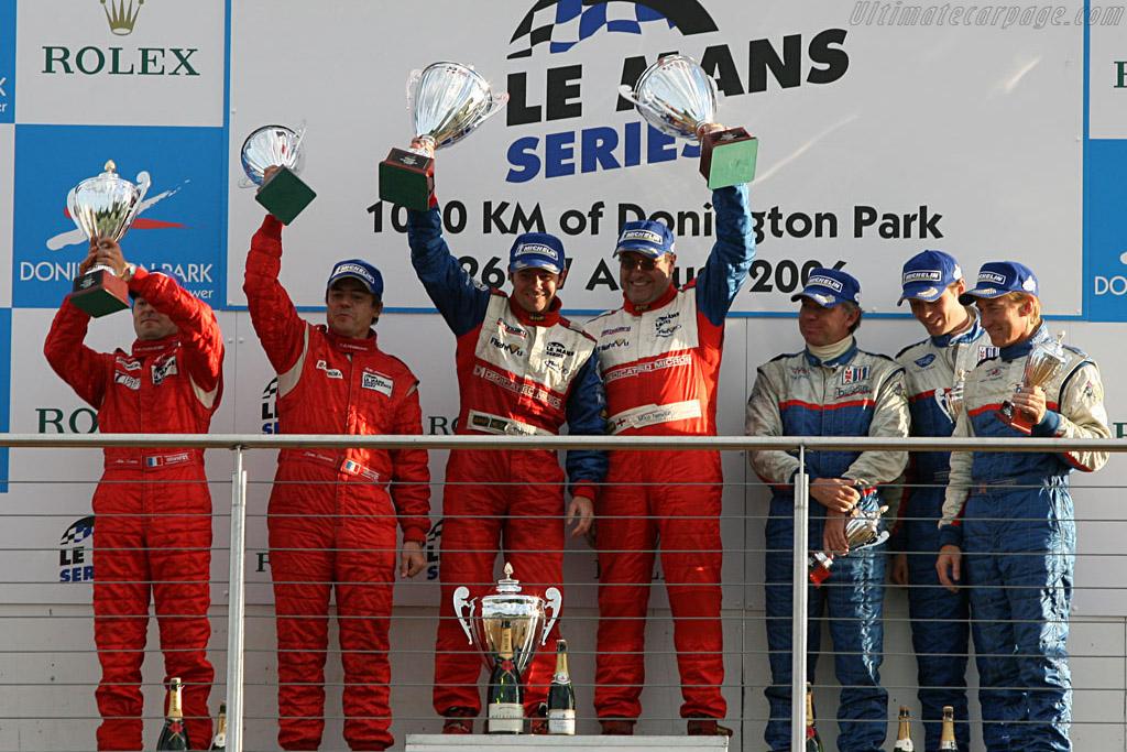 LMP2 podium    - 2006 Le Mans Series Donnington 1000 km