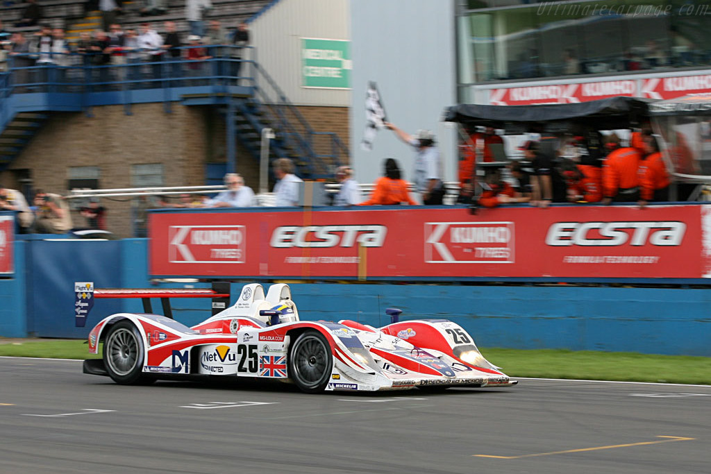 LMP2 winners - Chassis: B0540-HU05 - Entrant: RML  - 2006 Le Mans Series Donnington 1000 km