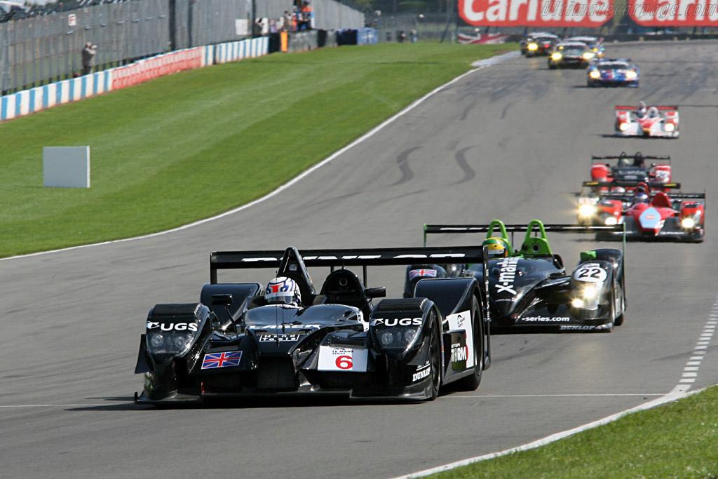 Lister Storm LMP - Chassis: 001 - Entrant: Lister Storm Racing  - 2006 Le Mans Series Donnington 1000 km