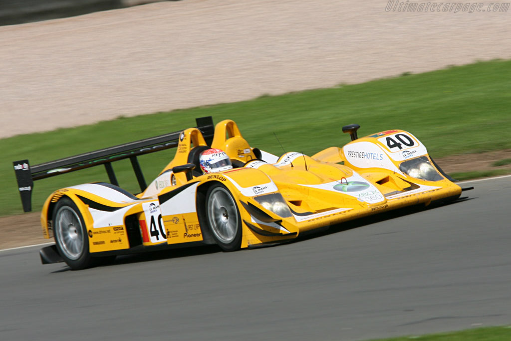 Lola B05/40 AER - Chassis: B0540-HU01 - Entrant: ASM Racing Portugal  - 2006 Le Mans Series Donnington 1000 km
