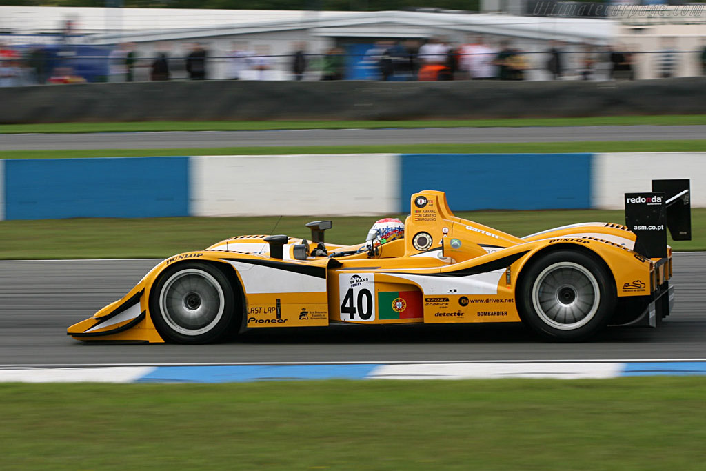 Lola B05/40 AER - Chassis: B0540-HU01 - Entrant: ASM Racing Portugal  - 2006 Le Mans Series Donnington 1000 km