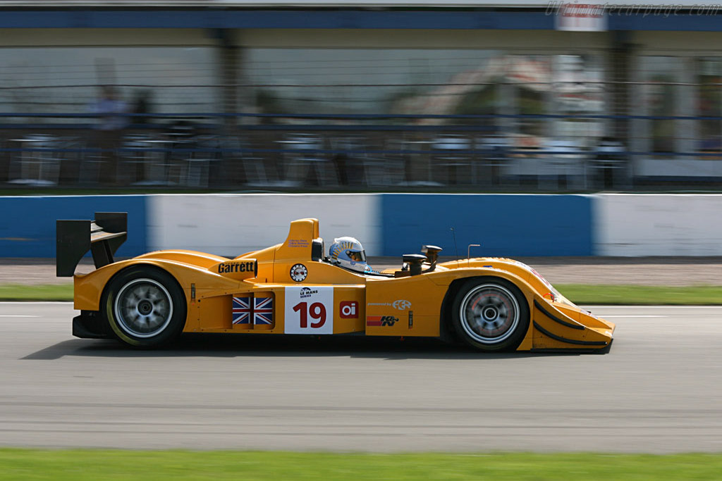 Lola B06/10 AER - Chassis: B0610-HU07 - Entrant: Chamberlain Synergy  - 2006 Le Mans Series Donnington 1000 km