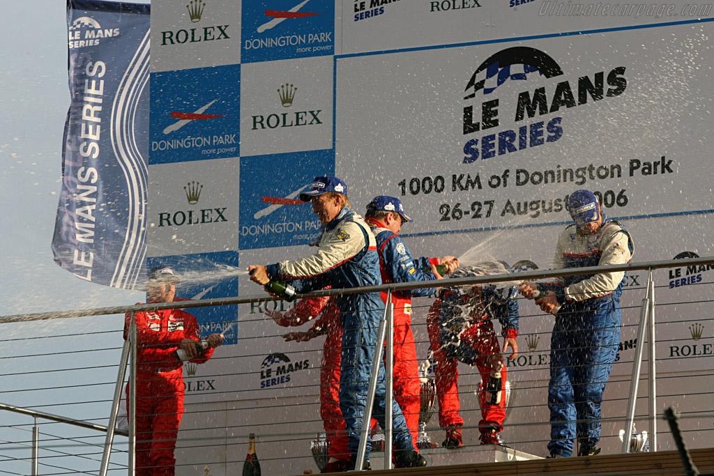More champagne    - 2006 Le Mans Series Donnington 1000 km