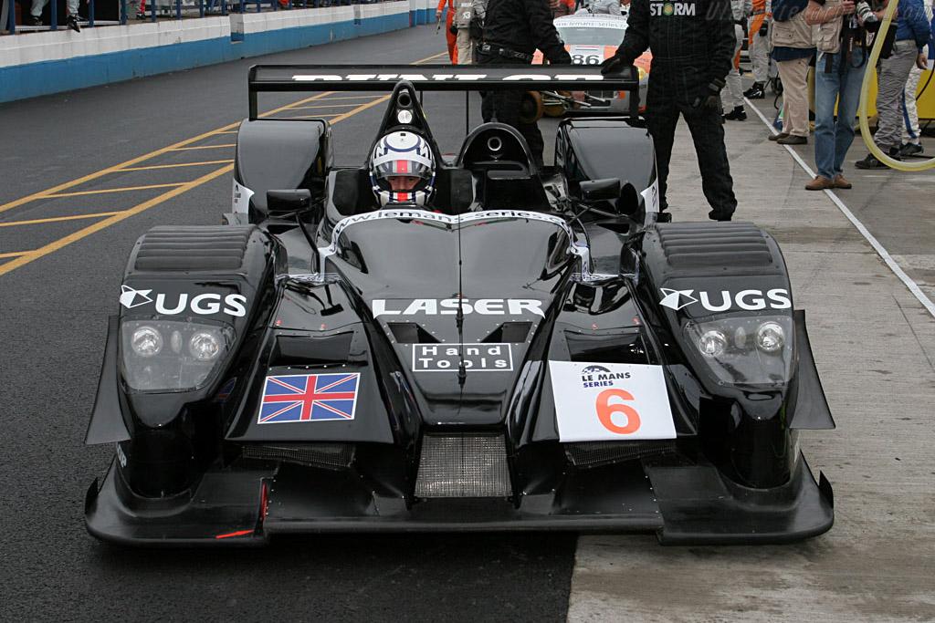 Nose 2 - Chassis: 001 - Entrant: Lister Storm Racing  - 2006 Le Mans Series Donnington 1000 km