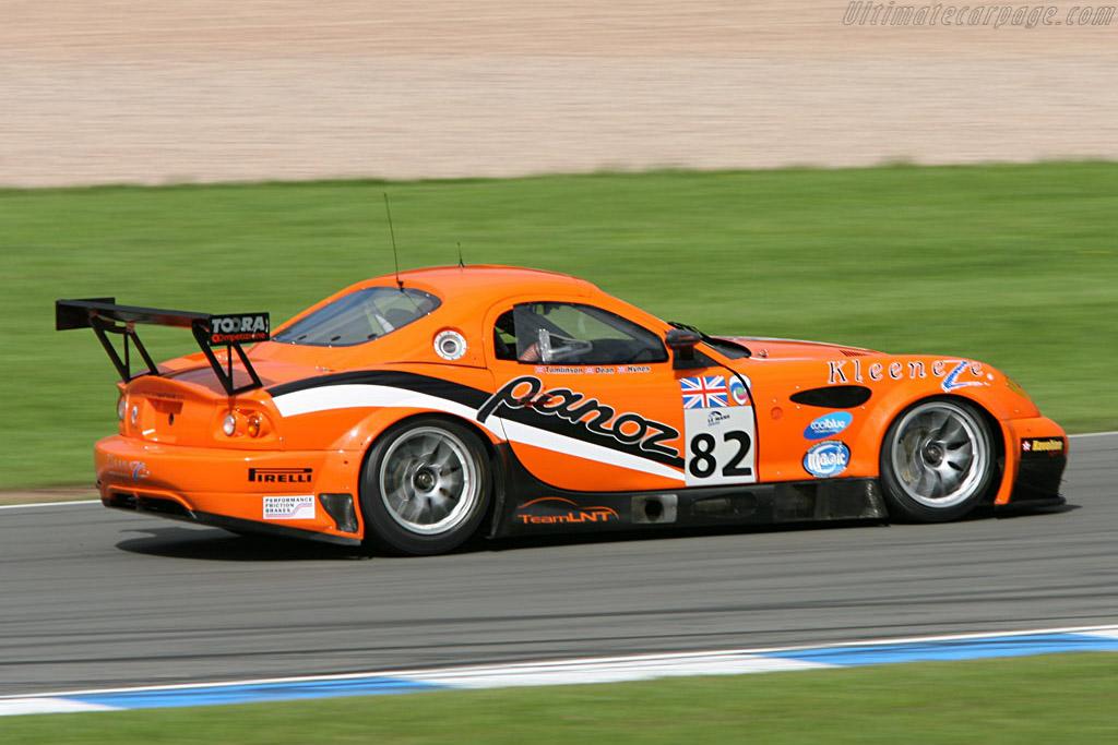 Panoz Esperante GT-LM - Chassis: EGTLM 006 - Entrant: Team LNT  - 2006 Le Mans Series Donnington 1000 km
