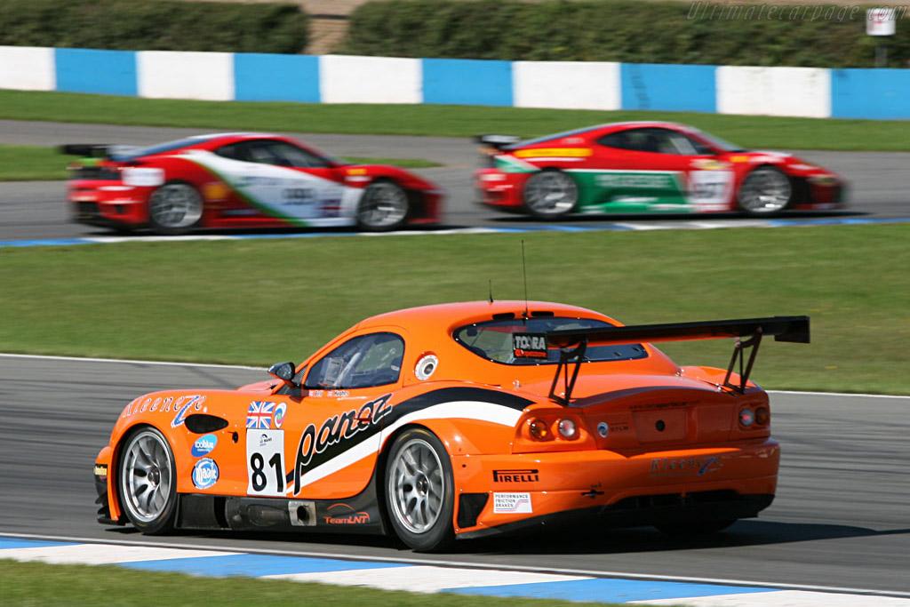 Panoz Esperante GT-LM - Chassis: EGTLM 005 - Entrant: Team LNT  - 2006 Le Mans Series Donnington 1000 km