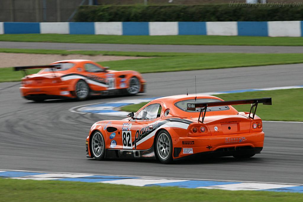 Panoz Esperante GTLM - Chassis: EGTLM 006 - Entrant: Team LNT  - 2006 Le Mans Series Donnington 1000 km