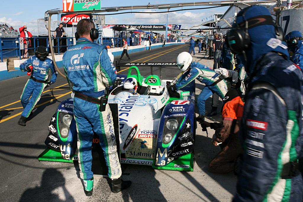Pesca Pit - Chassis: 4 - Entrant: Pescarolo Sport  - 2006 Le Mans Series Donnington 1000 km