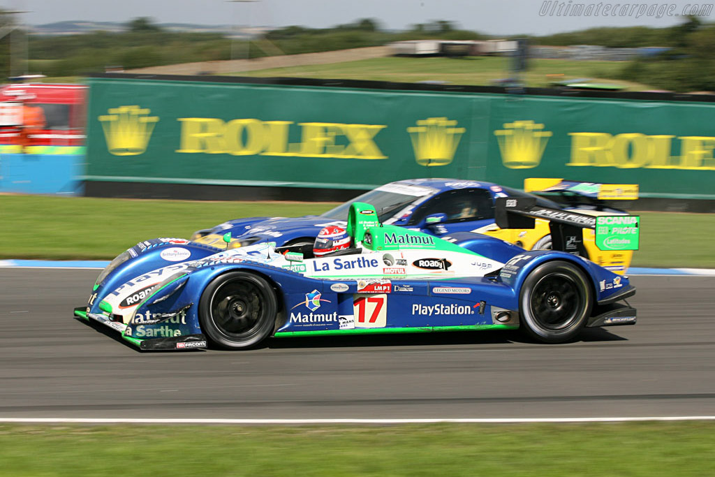 Pescarolo Courage C60 - Chassis: 4 - Entrant: Pescarolo Sport  - 2006 Le Mans Series Donnington 1000 km