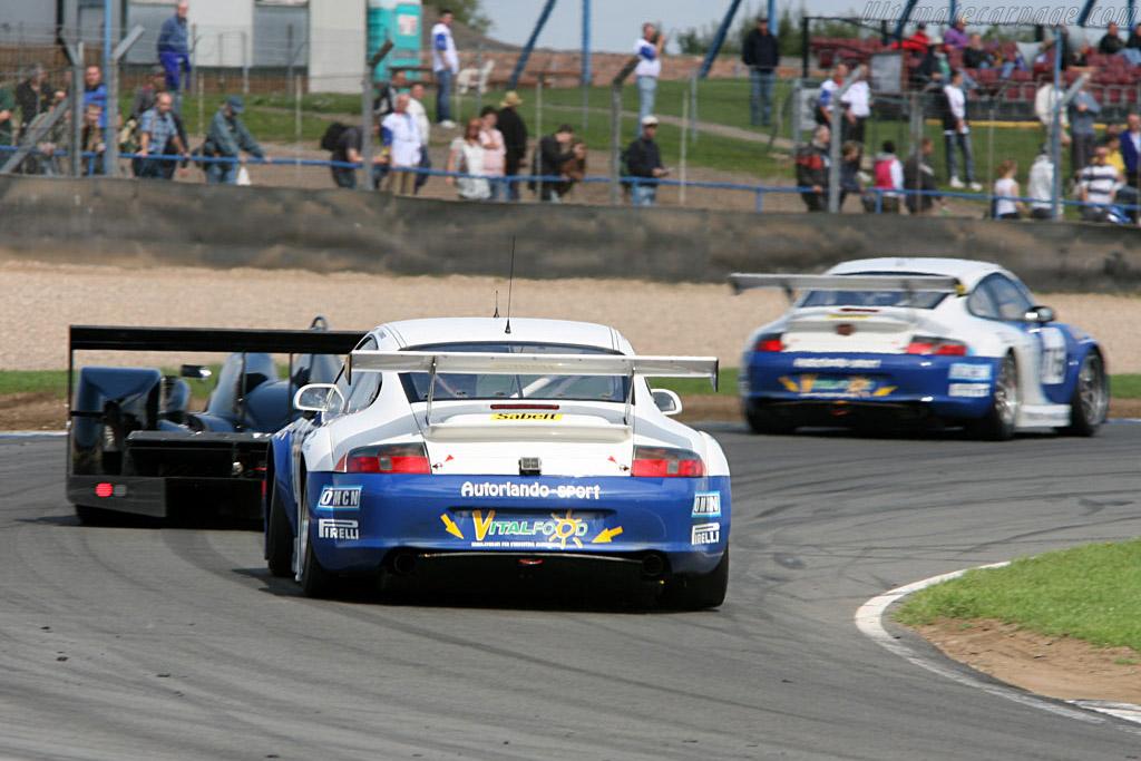 Porsche 996 GT3 RSR - Chassis: WP0ZZZ99Z4S693067 - Entrant: Autorlando Sport  - 2006 Le Mans Series Donnington 1000 km