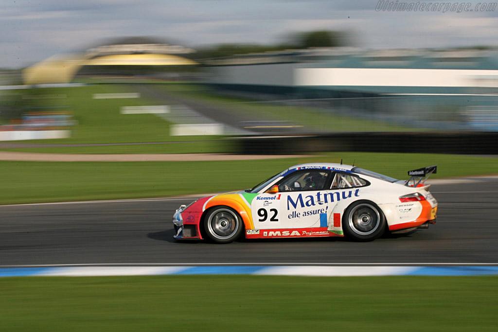 Porsche 996 GT3 RSR - Chassis: WP0ZZZ99Z4S693088 - Entrant: IMSA Performance Matmut  - 2006 Le Mans Series Donnington 1000 km