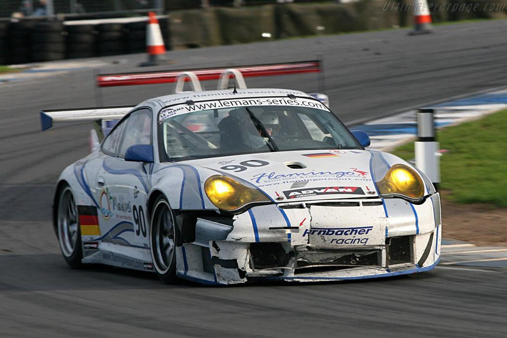 Porsche 996 GT3 RSR - Chassis: WP0ZZZ99Z4S693080 - Entrant: Farnbacher Racing  - 2006 Le Mans Series Donnington 1000 km