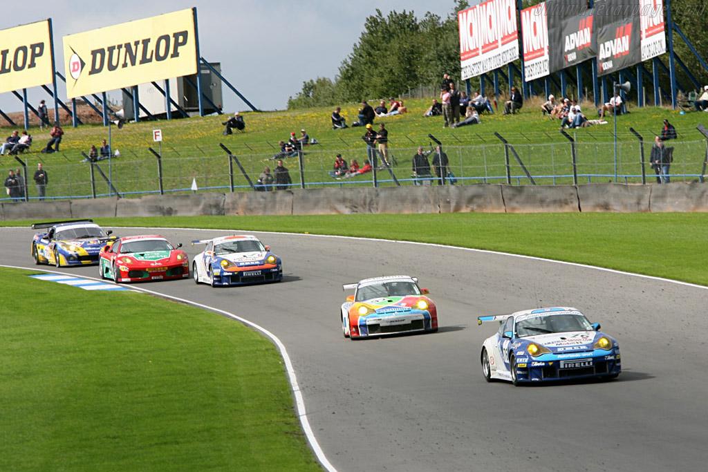 Porsche 996 GT3 RSR - Chassis: WP0ZZZ99Z5S693061 - Entrant: Autorlando Sport  - 2006 Le Mans Series Donnington 1000 km