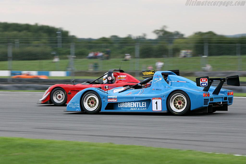 Radical SR3    - 2006 Le Mans Series Donnington 1000 km