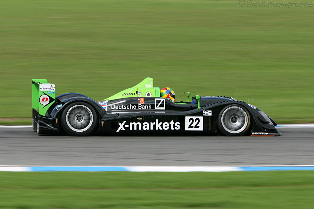 Radical SR9 Judd - Chassis: SR9001 - Entrant: Rollcentre Racing  - 2006 Le Mans Series Donnington 1000 km