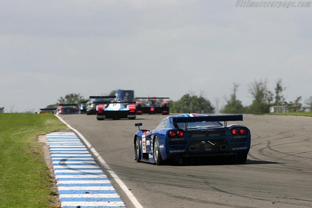 Saleen S7R - Chassis: 066R - Entrant: Team Oreca  - 2006 Le Mans Series Donnington 1000 km