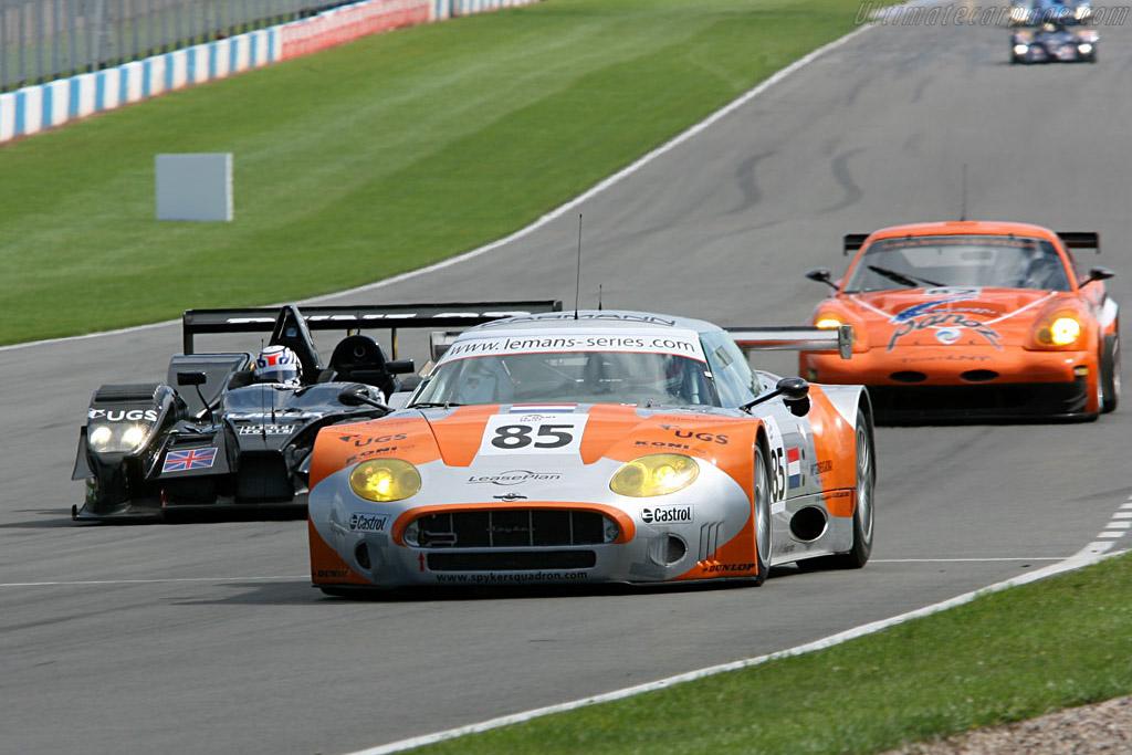 Spyker C8 GT2R - Chassis: XL9GB11HX50363097 - Entrant: Spyker Squadron  - 2006 Le Mans Series Donnington 1000 km