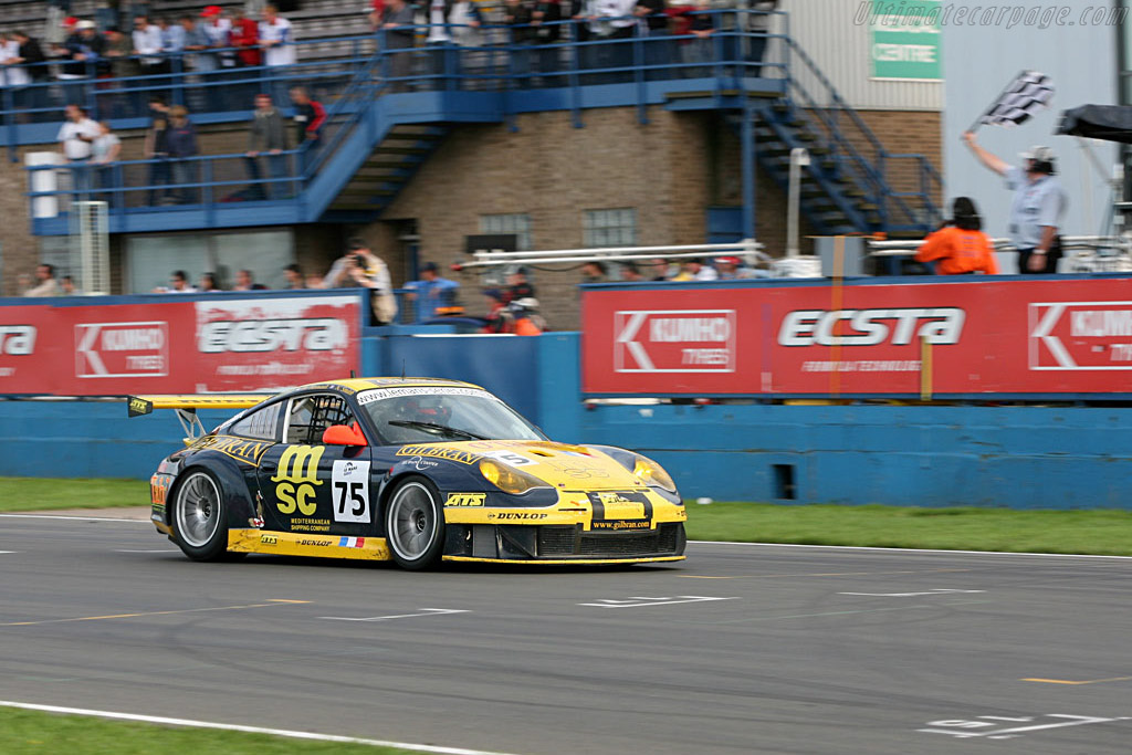 The Finish - Chassis: WP0ZZZ99Z4S693087 - Entrant: Thiery Perrier  - 2006 Le Mans Series Donnington 1000 km