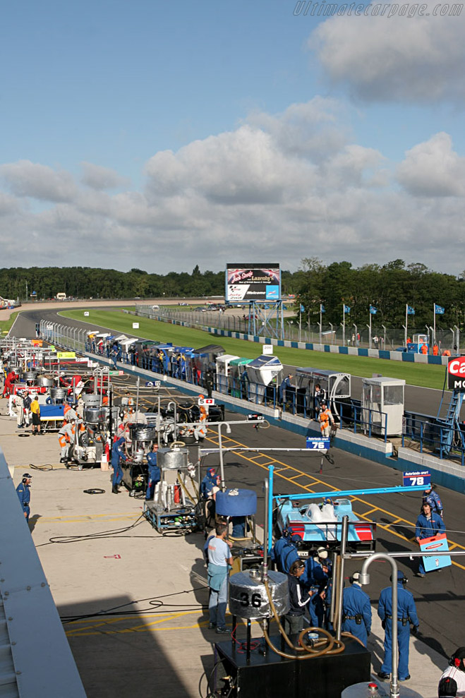 Welcome to Donington    - 2006 Le Mans Series Donnington 1000 km