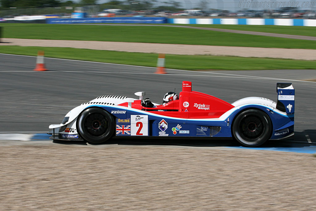 Zytek 06S - Chassis: 06S-04 - Entrant: Zytek Engineering  - 2006 Le Mans Series Donnington 1000 km