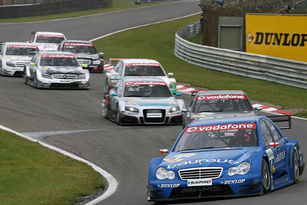 Di Resta is seen stuck in the background    - 2007 DTM Zandvoort