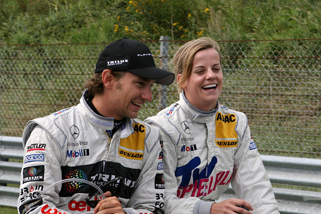 Mathias Lauda and Susie Stoddart    - 2007 DTM Zandvoort