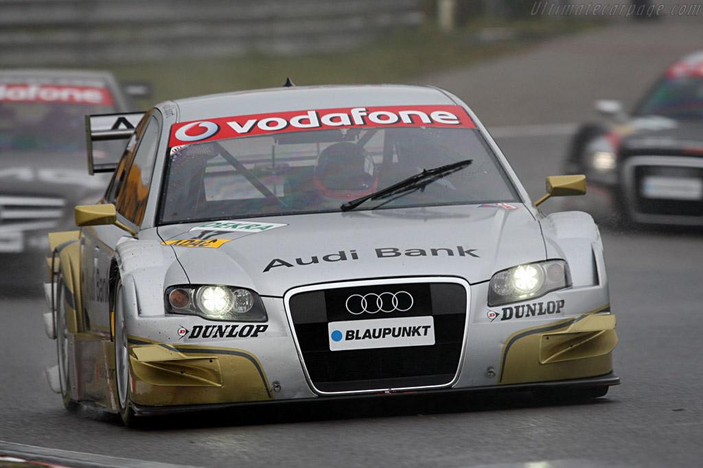 Premat chased by Hakkinen and Scheider    - 2007 DTM Zandvoort