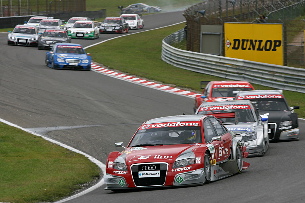 Rockenfeller leading the second group    - 2007 DTM Zandvoort