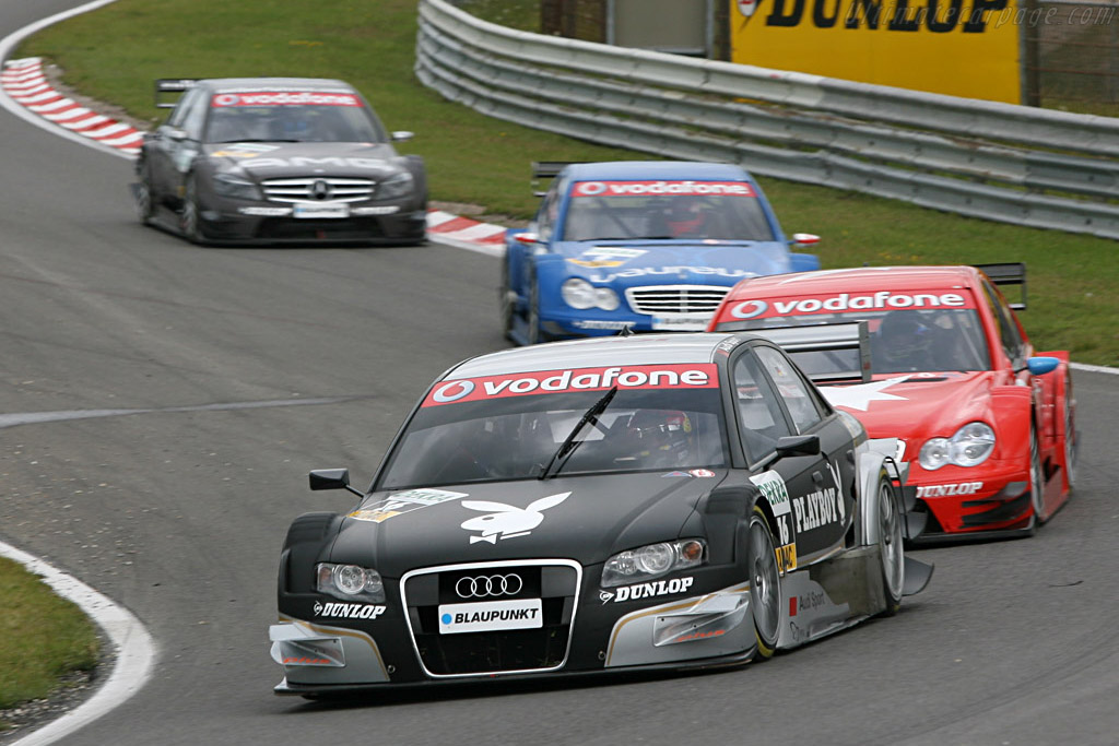 The Abt train    - 2007 DTM Zandvoort