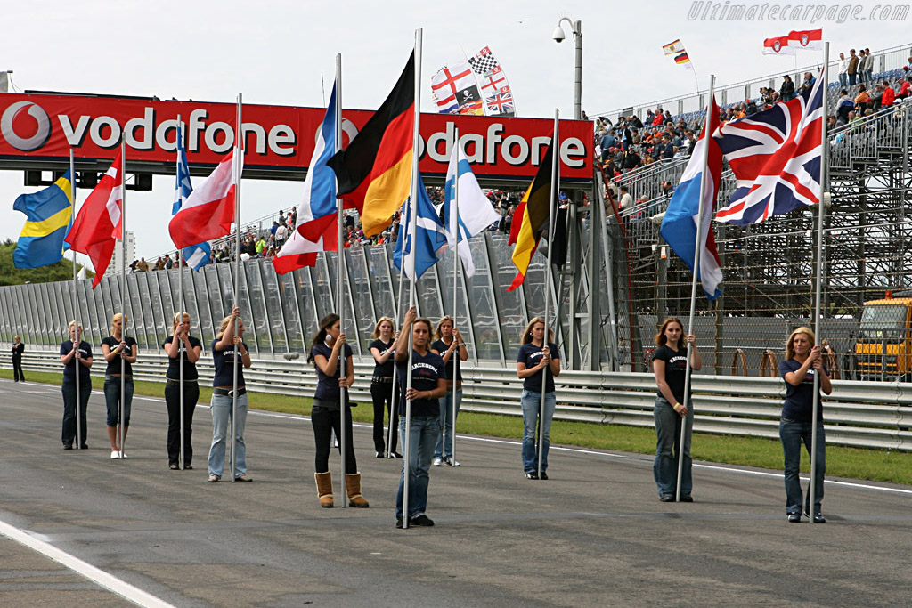 The DTM is very international    - 2007 DTM Zandvoort