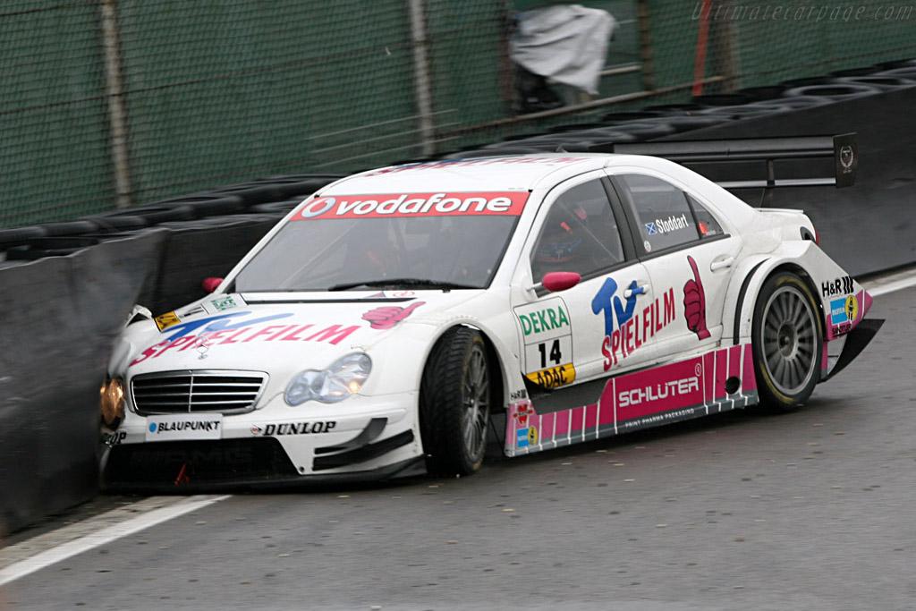 Too much understeer for Stoddart    - 2007 DTM Zandvoort