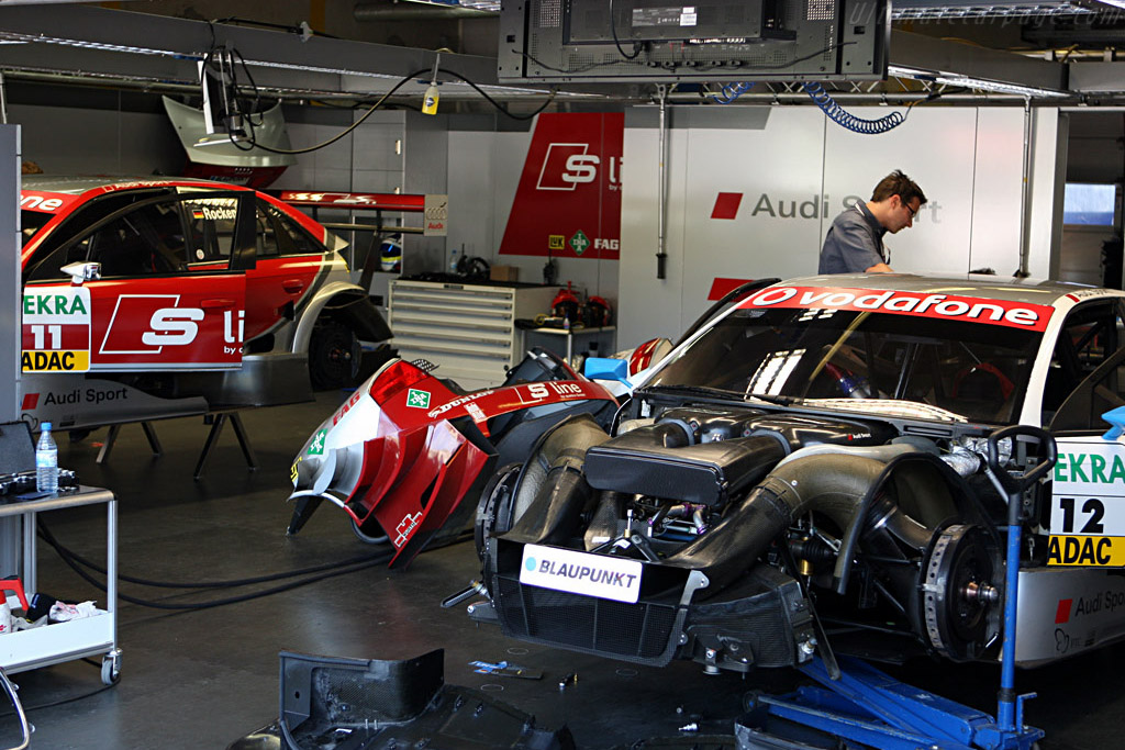 Welcome to the Audi Pit    - 2007 DTM Zandvoort