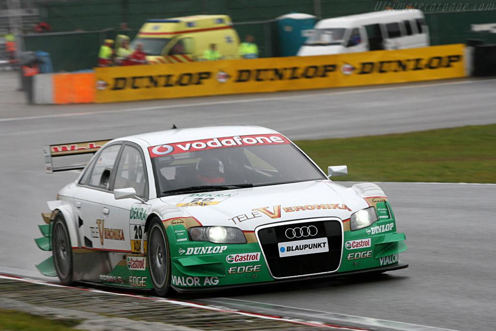 Winkelhock led an F1 race a week earlier    - 2007 DTM Zandvoort