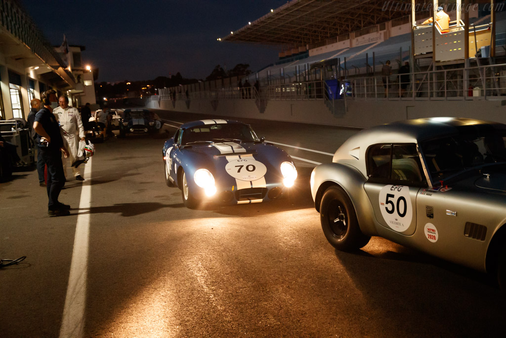 AC Shelby Cobra Daytona  - Driver: Pierre-Alain France / Erwin France - 2020 Estoril Classics