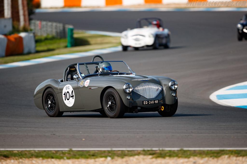 Austin Healey 100/4  - Driver: Laurent Paulus - 2020 Estoril Classics