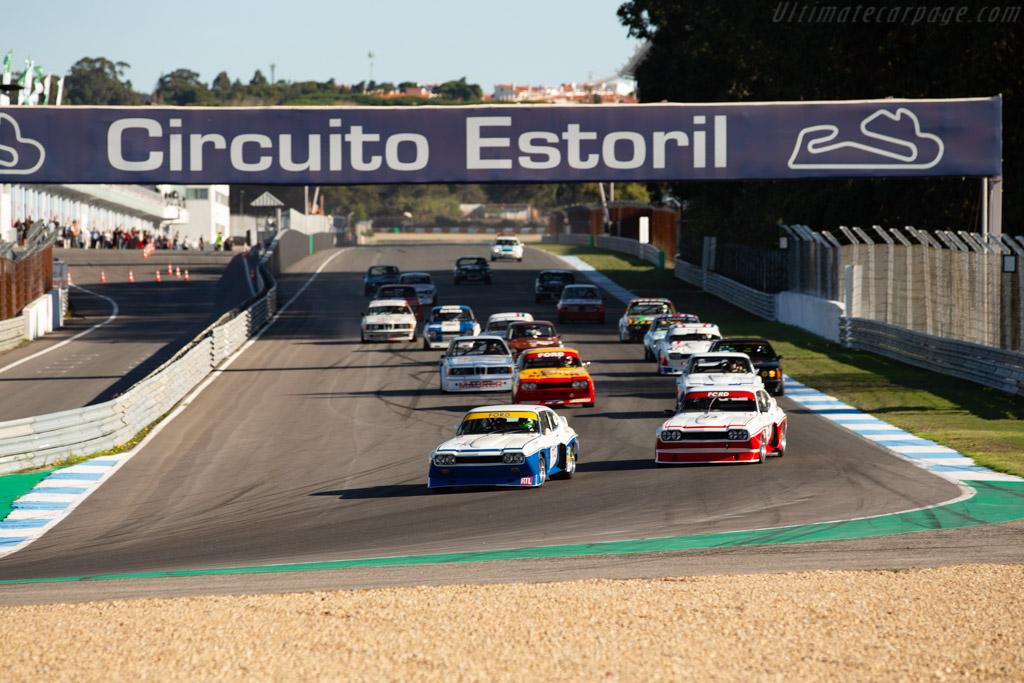 Ford Capri 3100 RS - Chassis: GAECNA19997 - Driver: Zak Brown / Dario Franchitti - 2020 Estoril Classics