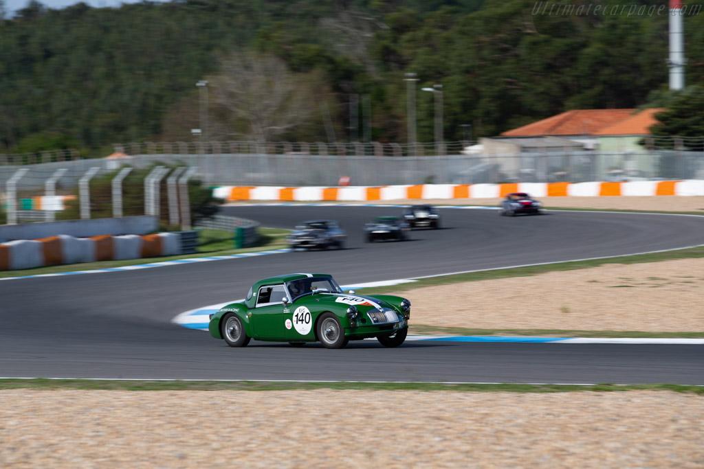 MG A - Chassis: YD2-2571 - Driver: Simon Nobili / Régis Masson - 2020 Estoril Classics