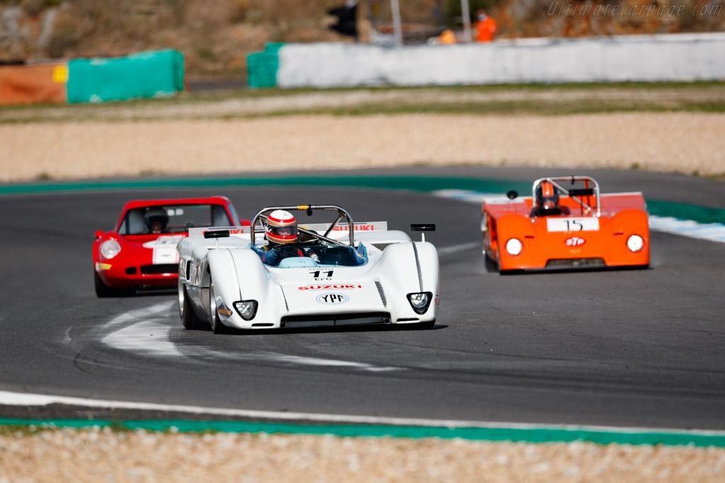 McLaren M8C DFV - Chassis: 70-01 - Driver: Marc Devis / Martin O'Connell - 2020 Estoril Classics