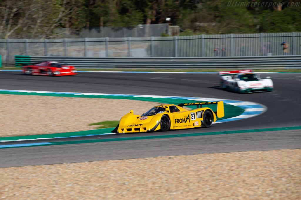 Nissan R90 CK - Chassis: R90C/7 - Driver: Pierre-Alain France / Erwin France - 2020 Estoril Classics