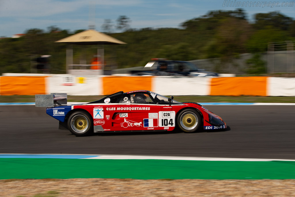 Spice SE89C - Chassis: SE89C-002 - Driver: Peter Fischer / Benjamin Monnay - 2020 Estoril Classics